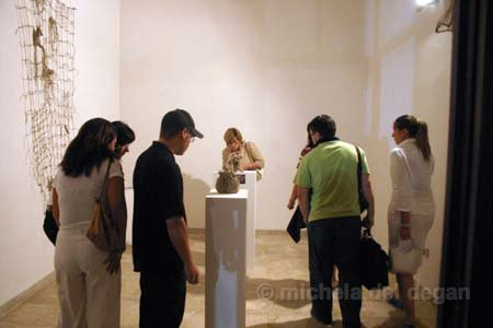 Mostra art process trapani - Michela Del Degan