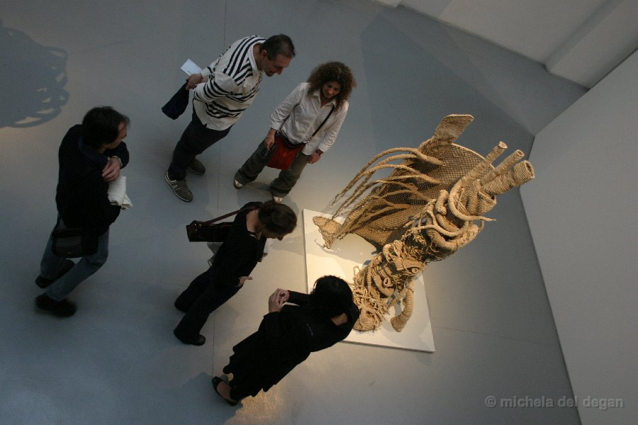 Arnaldo Pomodoro Foundation Exhibition - Michela Del Degan