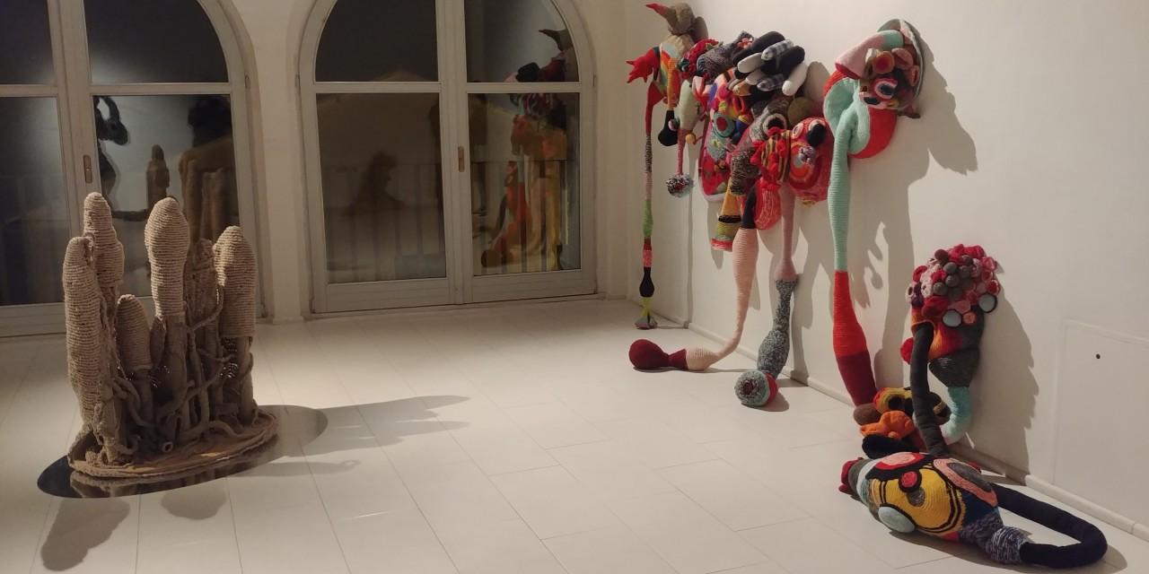 Mostra FIBERART- Organs - Michela Del Degan