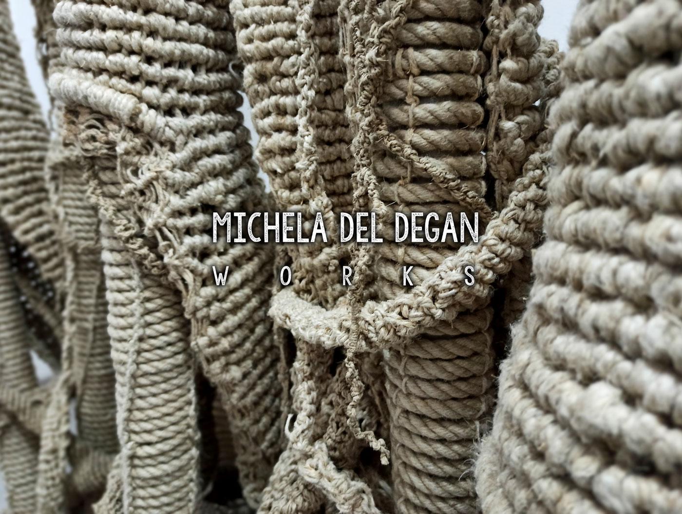 Michela Del Degan Home - Italian Artist